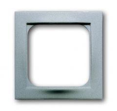 Лицевая панель ABB Impuls розетки телекоммуникационной серибристый алюминий 2CKA001753A0042