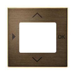 Лицевая панель ABB Sky таймера античная латунь 2CLA856530A1201