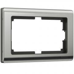Werkel Рамка для двойной розетки (глянцевый никель) W0081602