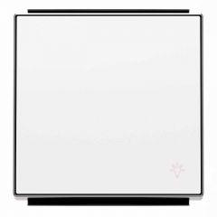 Лицевая панель ABB Sky выключателя одноклавишного Свет альпийский белый 2CLA850420A1101