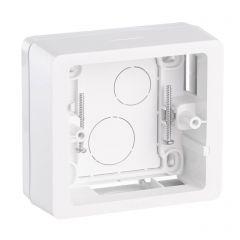 Коробка накладного монтажа 1-постовая Legrand Celiane белая 080241