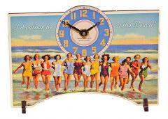 Timeworks Настольные часы (13x19 см) At The Beach POTATB