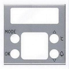 Лицевая панель ABB Zenit термостата серебро N2240.5 PL