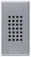 Зуммер ABB Zenit серебро N2119 PL