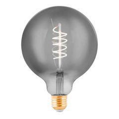 Лампа светодиодная Eglo E27 4W 2000K дымчатая 11873
