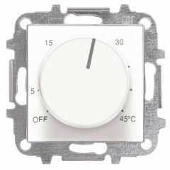Лицевая панель ABB Sky терморегулятора альпийский белый 2CLA854090A1101