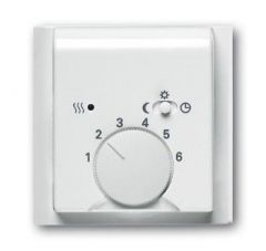 Лицевая панель ABB Impuls терморегулятора альпийский белый 2CKA001710A3577
