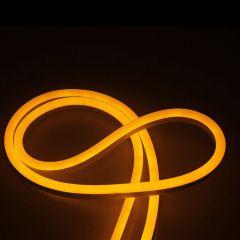 Гибкий неон SWG 6W/m 120LED/m 2835SMD желтый 50M 007379