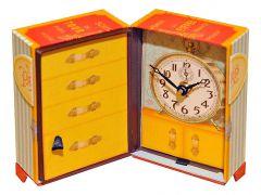 Timeworks Настольные часы (8x14 см) Paris Trunk BCPT5S