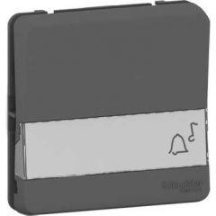 Schneider Electric MUREVA S Кнопочный выключатель с пол. для маркир. 10А, 250В, АНТРАЦИТ, IP55