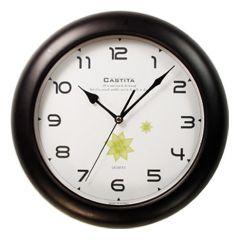 Настенные часы (30х30 см) Castita 120BK