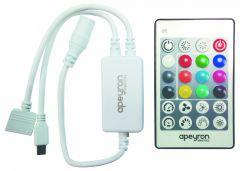 Контроллер-регулятор цвета RGBW с пультом ДУ Apeyron Electrics 04-29