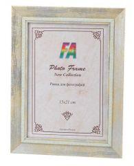 Фоторамка FA пластик Леон розовый перламутр 2 15х21 (28/672) Б0050001