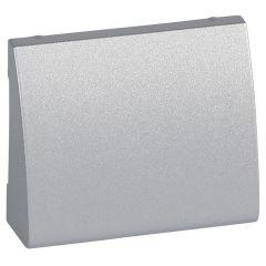 Лицевая панель Legrand Galea Life двойной вывода кабеля алюминий 771385