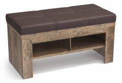 Олимп-мебель Банкетка-стеллаж для обуви Лючия 33.21