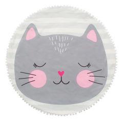 Крошка Я Плед детский (90x90 см) Кошечка