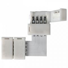 Соединитель лент угловой жесткий Elektrostandard LED 3L a039078
