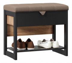 Любимый Дом Банкетка-стеллаж для обуви Техно ЛД 678.310.000