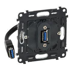 Розетка USB Legrand Valena Мех In Matic 753082