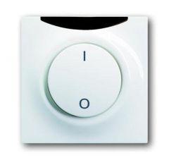 Лицевая панель ABB Impuls выключателя с ДУ I/O альпийский белый 2CKA006020A1224