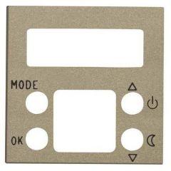 Лицевая панель ABB Zenit термостата шампань N2240.5 CV