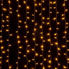 Занавес световой [2x3 м] Eurosvet 200-002 теплый белый