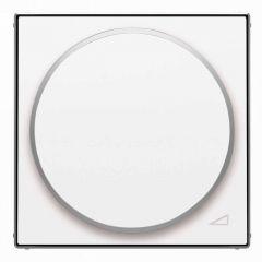 Лицевая панель ABB Sky диммера поворотного альпийский белый 2CLA856020A1101