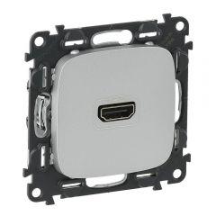 Розетка HDMI Legrand Valena Allure алюминий 754717