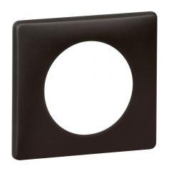 Рамка 1-постовая Legrand Celiane черная перкаль 066741