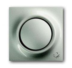 Лицевая панель ABB Impuls выключателя одноклавишного с подсветкой Свет шампань-металлик 2CKA001753A5291