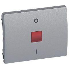 Клавиша Legrand Galea Life выключателя с индикацией алюминий 771318