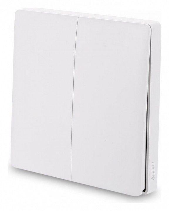 AQARA Выключатель двухклавишный с функцией Wi-Fi Wireless Remote Switch WXKG02LM